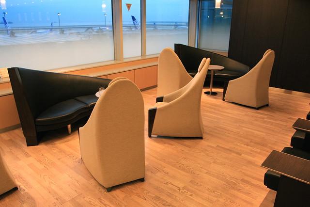 ANA Domestic Lounge - Tokyo Haneda Airport