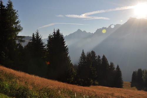 trees summer sun mountain ski sunrise photography james bright horizon leeds run richard rays mont blanc tmb tourdemontblanc11