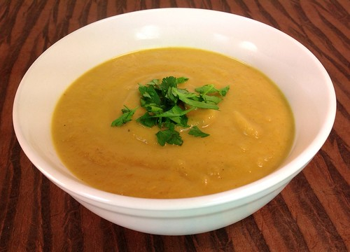 Curried Turnip Soup