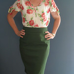 Burdastyle Jenny Skirt and Simplicity 1872 View A