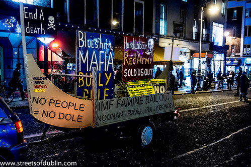Budget Day Demonstration In Dublin (5th. December 2012) by infomatique