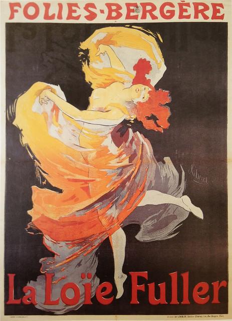 Loie Fuller at Folies Bergere