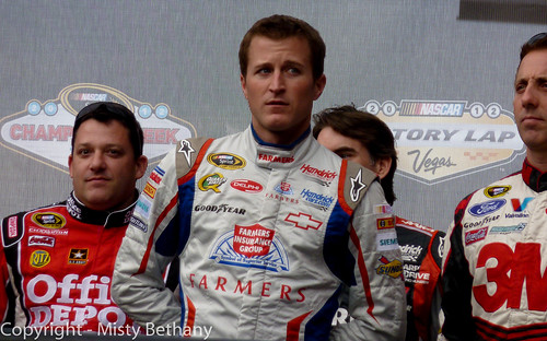 Kasey Kahne, Tony Stewart during 2012 Champions Week