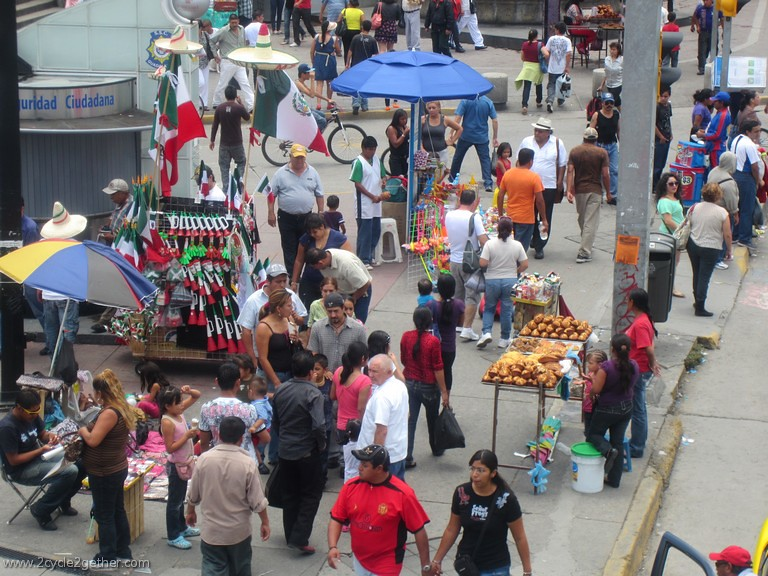 Sidewalk Scene from Guadalajara