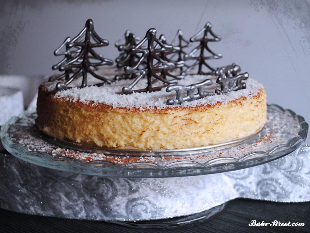 Baño De Chocolate Blanco Utilisima:Pin Cheese Cake Receta De Gato Dumas Recetas Cocina Cake on Pinterest