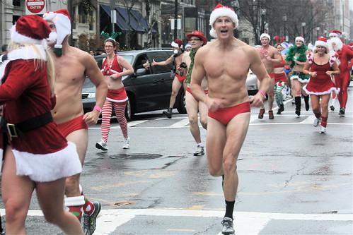 boston santa speedo run 2012 2