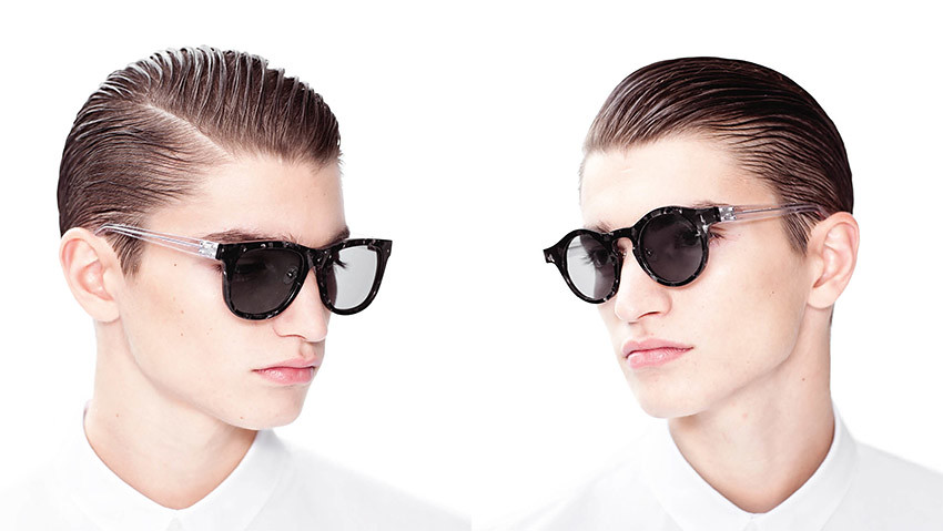 Kris Van Assche Eyewear S/S 13 Campaign