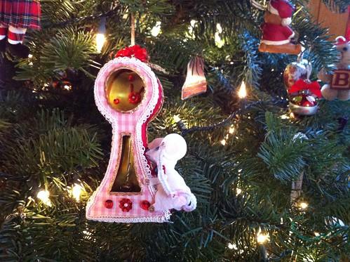 childhood christmas ornament