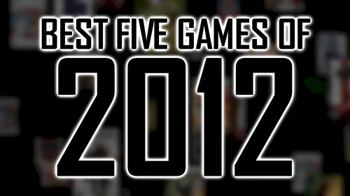 Best Five Games of 2012 screenshot