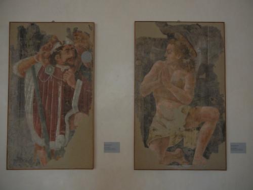 DSCN3794 _ San Cristofore (l), San Sebastiano (r), Maestro Ferrarese