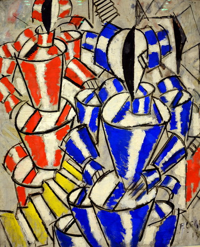 Fernand Leger - L'escalier, 1913 at Kunsthaus Zürich - Zurich Switzerland by mbell1975