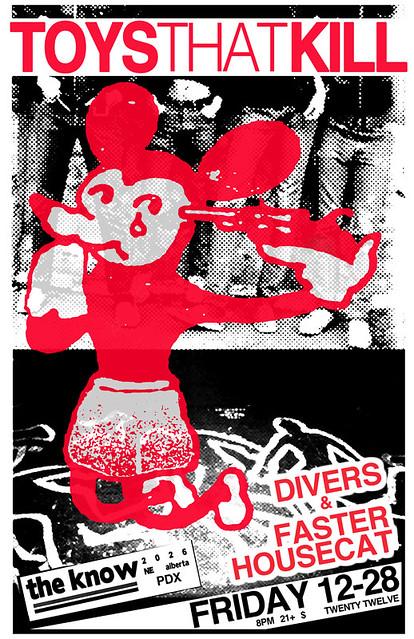12/28/12 ToysThatKill/Divers/FasterHousecat