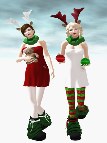 Fiend Santa Helpers at Acid Lily by Miss Laylah Lecker