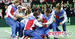 Zájezd na 1. kolo Davisova poháru - Švýcarsko - Česko
