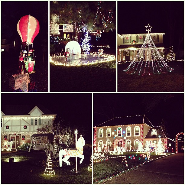 Went driving last night to see some #Christmas #Lights - pretty, pretty!