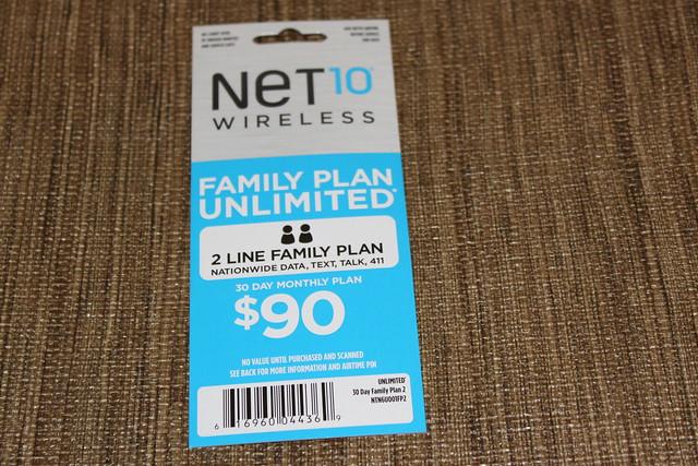 Net10 Wireless Family Plans