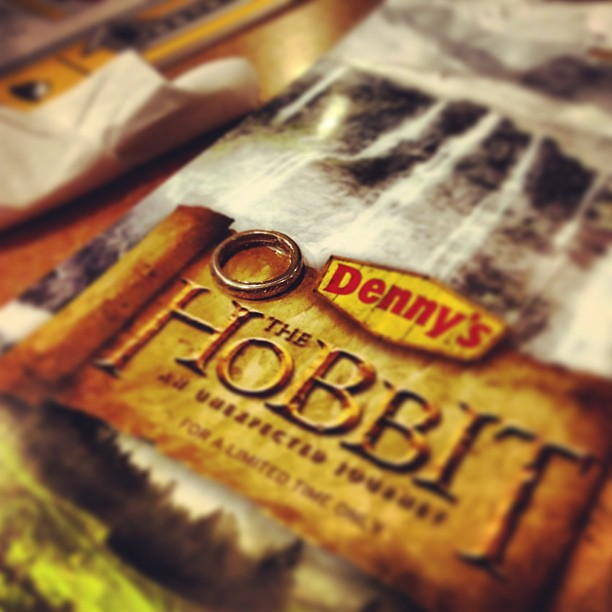 Time for second breakfast! #thehobbit #dennys
