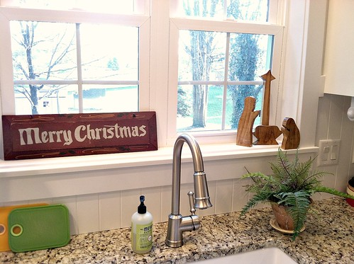 Kitchen Window Ledge Our Child Friendly Christmas Decor Andrea Dekker