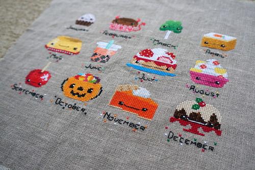 Dessert Stitch-along by jenniferworthen