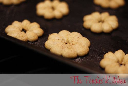 Honey Spritz Cookies