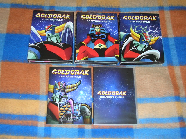 Coffret dvd goldorak l'integrale