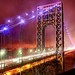 The George Washington Bridge on December 16, 2012 by mudpig
