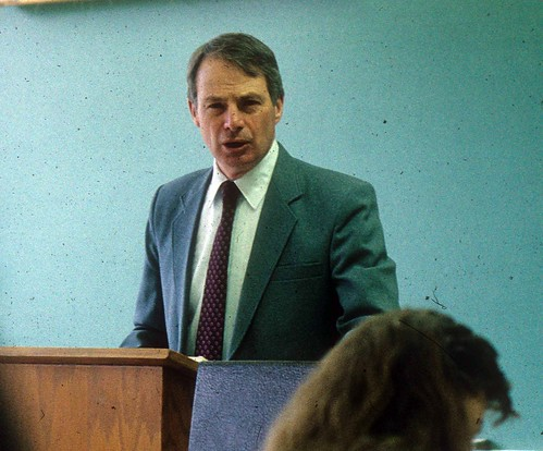 Scharfe, Ron teaching class -Bible Prof 1991