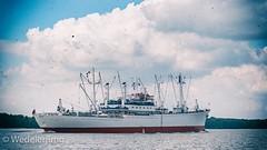 Ein altes, klassisches Schiff braucht auch einen entsprechenden Bildlook....die Cap San Diego auf der Elbe.