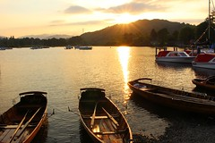 Lake District at Sunsent