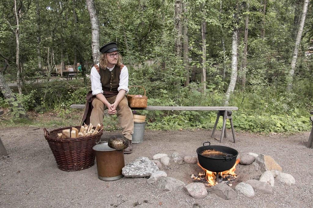Stockholm Skansen Museum chef