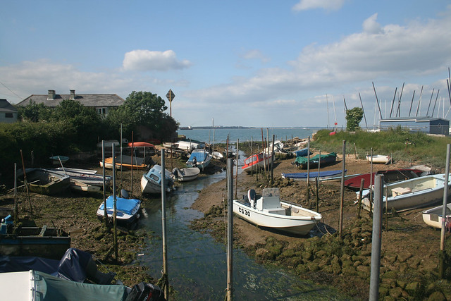 Creek by Gurnard Bay
