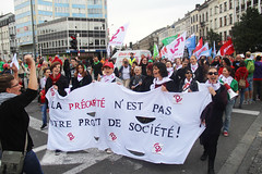 Manifestation nationale - Nationale Betoging 29/09/2016.