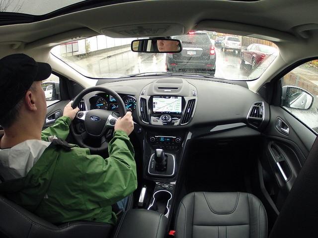 2014 ford escape key fob slot