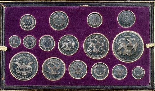 1868 Cased Aluminum Trial set