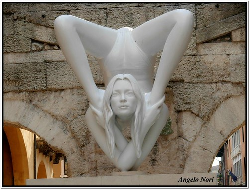 La Kate Moss di Marc Quinn by Angelo Nori