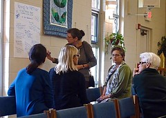 Open Space Technology, one of the groups