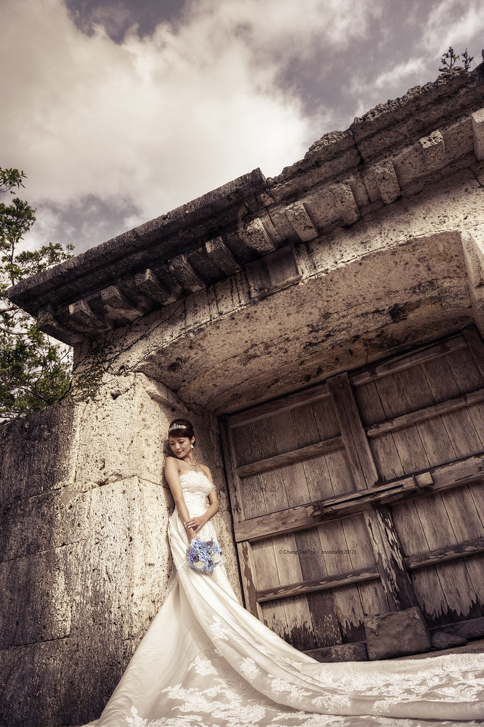 [wedding] Shuri Castle in Okinawa