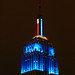 Empire State Building turns blue. Obama wins.