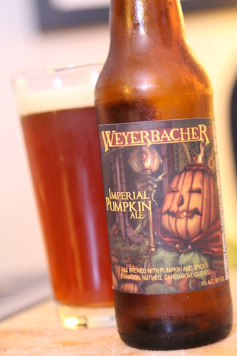 Weyerbacher Brewing Company Imperial Pumpkin Ale