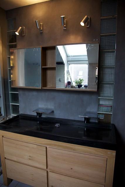 Interieur meuble de salle de bain ikea godmorgon - Salle de bain godmorgon ...