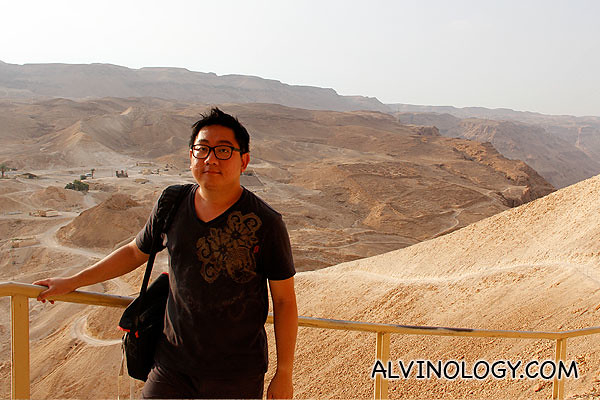 Picture of me in Masada