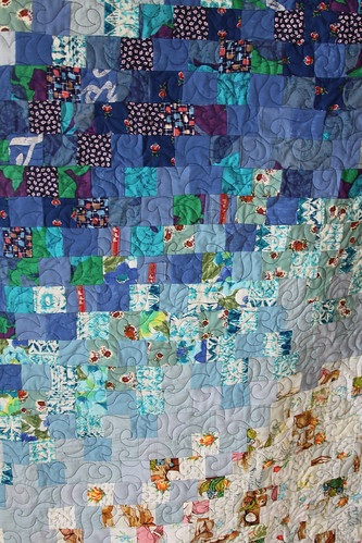 Memory Quilt made from clothing
