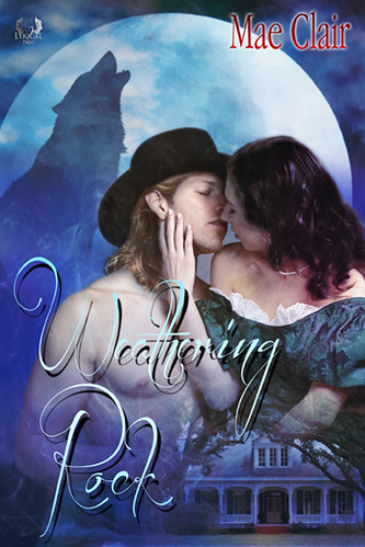 Book Feeature with mae clair romance author of weathering rock