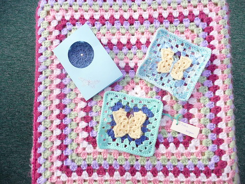 Card and Butterfly Squares from ATheeC (Belgium).