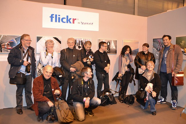 Samedi - Rencontre Flickr au Salon de la photo