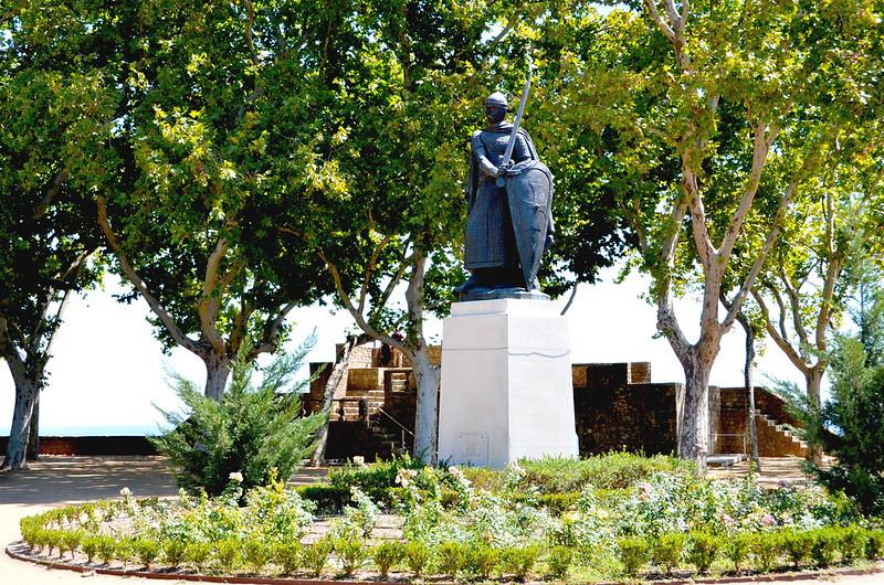 Dom Afonso Henriques em Santarém