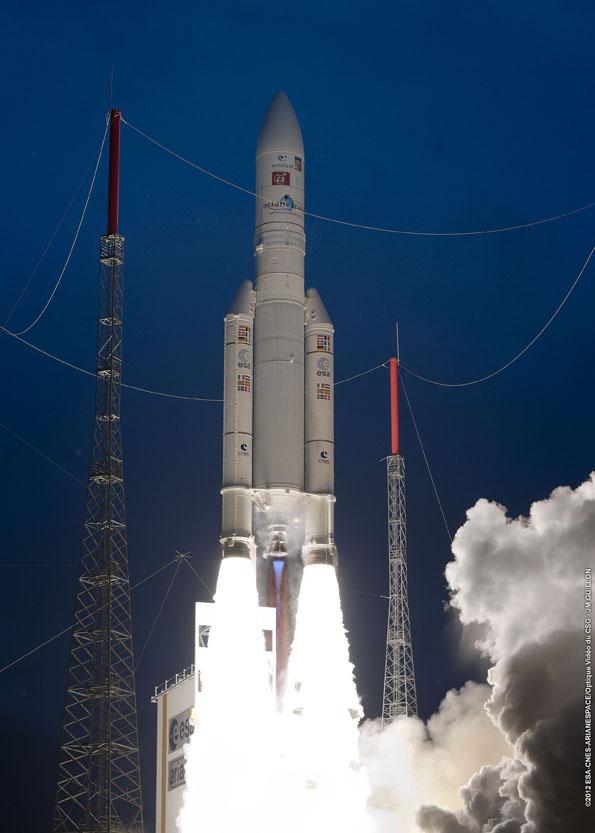 Lancement Ariane 5 ECA VA210 / StarOne C3 + W6A - 10 novembre 2012 - Page 3 8173086746_0f03994e96_o