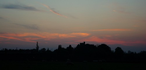 20120522-01_Sunset over Church Lawford by gary.hadden