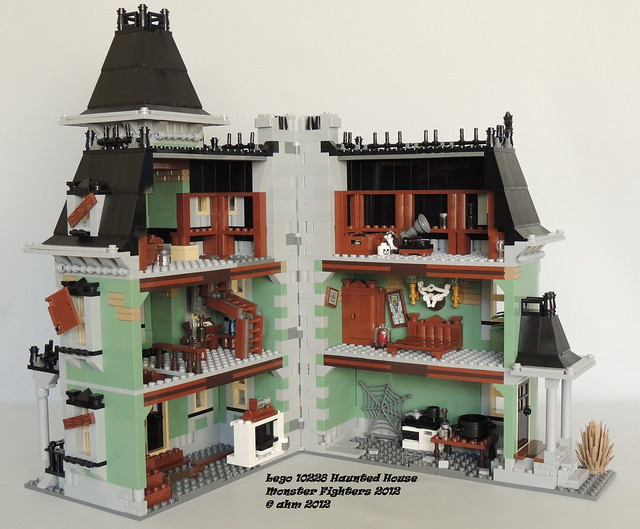 Lego monster fighters 10228 haunted house flickr photo for Lego house original