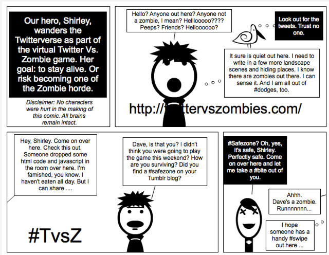 Digital Writing Comic14 zombie